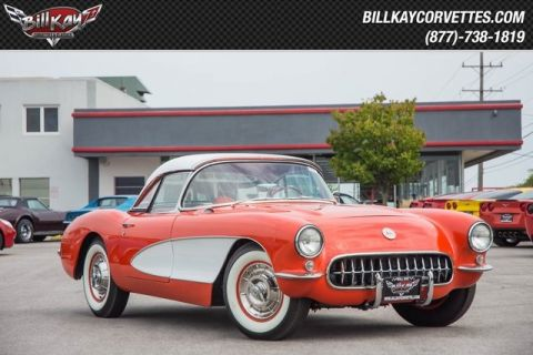 Pre-Owned 1956 Chevrolet Corvette Roadster