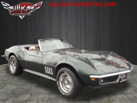 Pre-Owned 1969 Chevrolet Corvette roadster