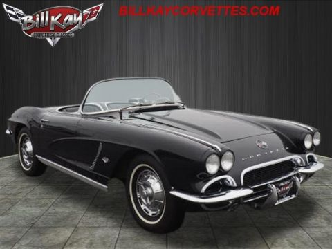 Pre-Owned 1962 Chevrolet Corvette ROADSTER