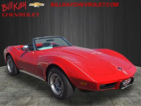 Pre-Owned 1975 Chevrolet Corvette deluxe