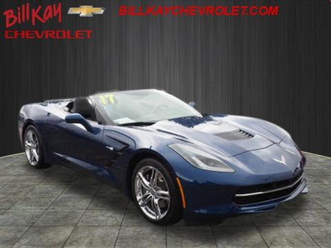 Certified Pre-Owned 2017 Chevrolet Corvette Stingray 1LT