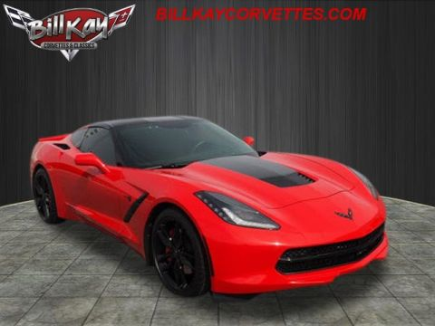 Certified Pre-Owned 2015 Chevrolet Corvette Stingray 2LT