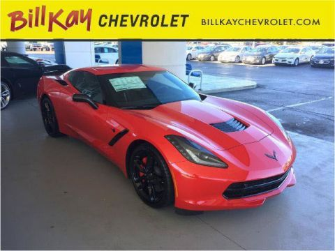 New 2016 Chevrolet Corvette Stingray Z51 3LT