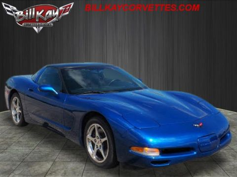 Pre-Owned 2002 Chevrolet Corvette Base