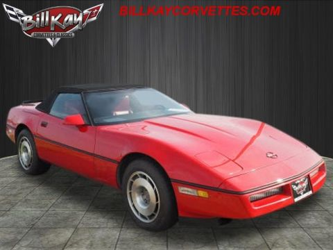 Pre-Owned 1987 Chevrolet Corvette Grand Sport