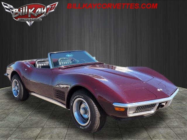 Pre-Owned 1970 Chevrolet Corvette CONVERTIBLE